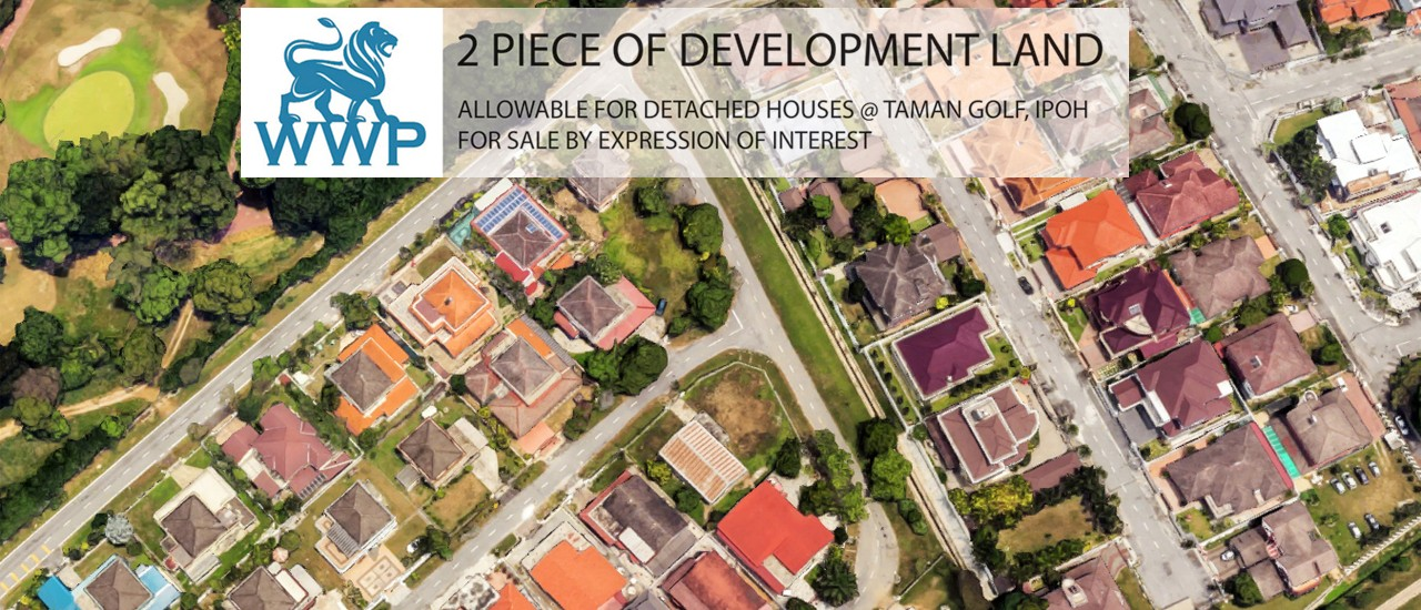 Ipoh Bungalow Land For Sale – RM 1,250,000
