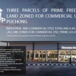 3 Parcels Commercial Land for Sale