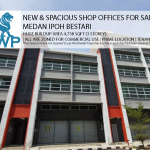 Spacious & New Shop Offices for Auction in Ipoh, Medan Ipoh Bestari - RM2,850,000